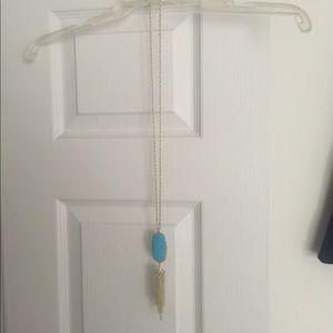 Kendra Scott turquoise rayne necklace